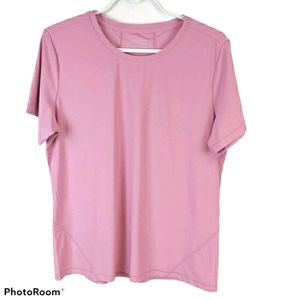 Mondetta Pink Outdoor Sweat Wicking Athletic Top